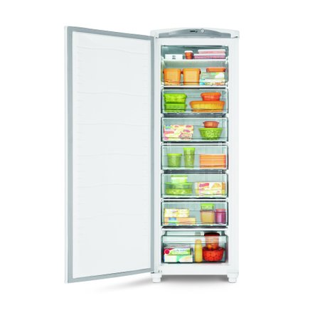 Freezer Consul, 1 Porta Vertical, 246 Litros, Branco, Cycle Defrost