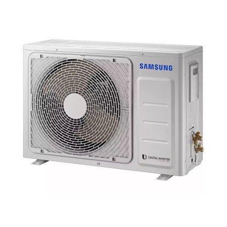 Ar Condicionado Split Samsung Digital Inverter, 8 Polos, 9000 BTUs, Quente e Frio - AR09MSSPBGMXAZ