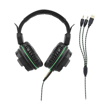 Fone De Ouvido Warrior Headphone Gamer Green - PH143