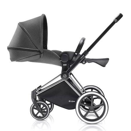 Carrinho de Bebê Cybex Priam Lux Seat Manhattan, Grey