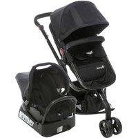 Carrinho de Bebê  Safety 1ts Mobi Travel System 15kg, Com Base, Preto