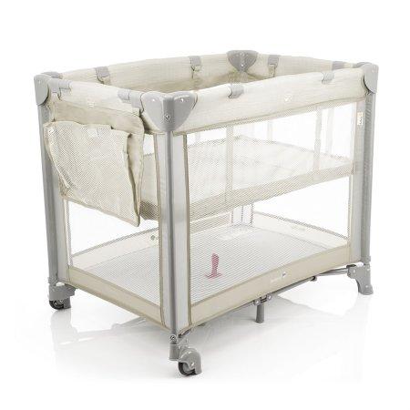 Berço Portátil Safety Mini Play, Desmontável, 15kg, Pop Beige - IMP91286