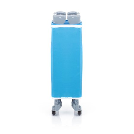 Berço Portátil Safety Mini Play Desmontável 15kg, Pop Blue - IMP91284