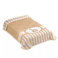 Cobertor Para Berço Colibri Cavalinho Exclusive, Bege