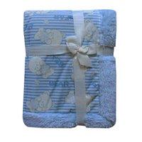 Edredom Jolitex Carneirinho Dupla Face Pelúcia, Azul