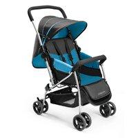Carrinho de Bebê Berço Flip Azul - Multikids Baby