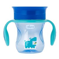 Copo Perfect Cup 360º Azul 200ml  - Chicco