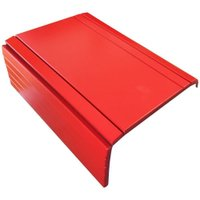 Bandeja Esteira para Braço de Sofá Porta Copo Reto Vermelho - Drossi