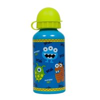 Garrafinha Monster Party 400ml, Azul - Buba