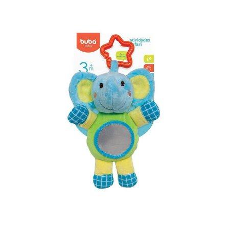 Atividades Safari Elefante Com Espelho 6083 - Buba