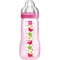 Mamadeira Easy Active Fashion Bottle 330 ml Rosa 4m+ 4834 - MAM