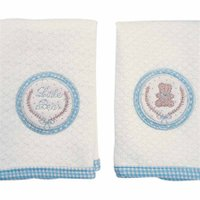 Kit Paninhos de Boca Little Bear 2 un. E2201 Azul - Hug
