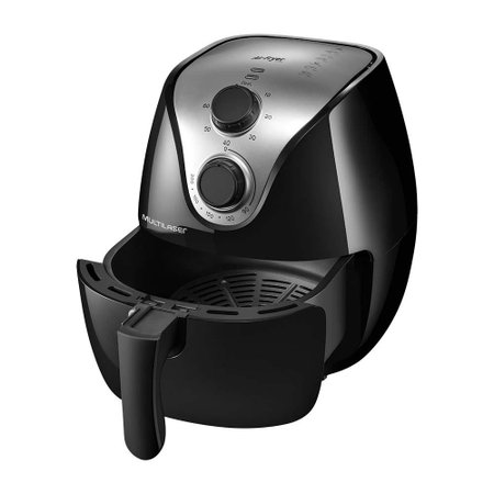 Fritadeira Elétrica Air Fry Gourmet 4L Sem Óleo Multilaser - CE021