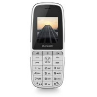 Celular Up Play Dual Chip Mp3 Com Câmera Branco Multilaser - P9077