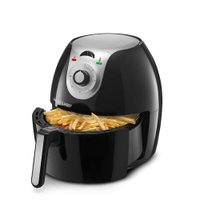Fritadeira Elétrica Sem Óleo Multilaser Air Fryer Gourmet 5,5l, Preto - CE05