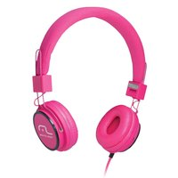 Fone de ouvido Multilaser Headphone som Wi-Fi Power Rosa - PH088