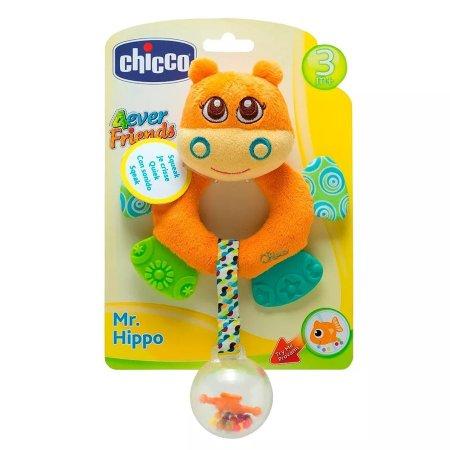 Chocalho Hipopótamo Primeiras Atividades - Chicco