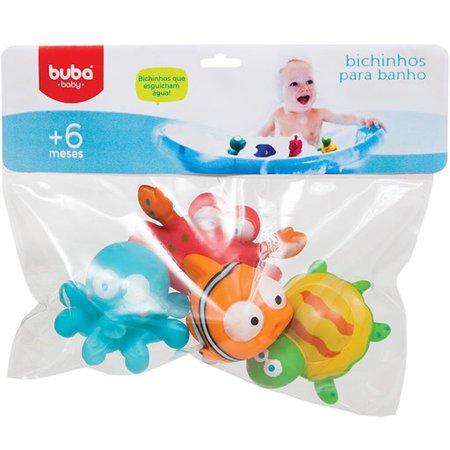 Bichinhos Para Banho Oceano - Buba