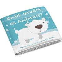 Livro de Banho Animais BB174 - Multikids