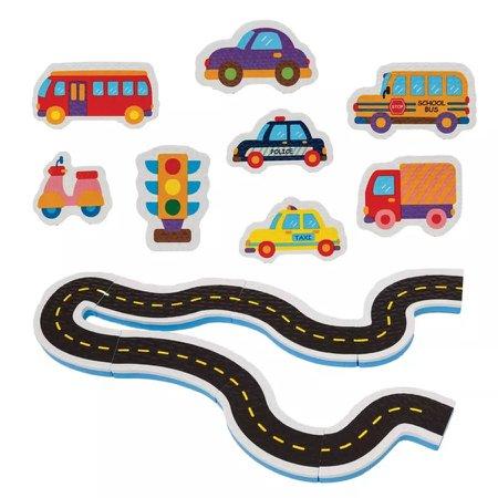 Brinquedos de Banho Carrinhos na Estrada 6705 - Buba