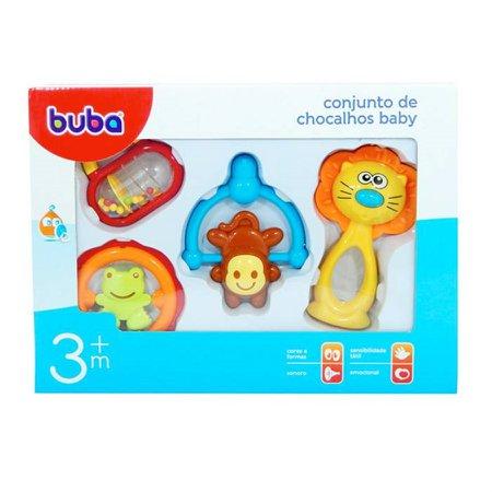 Conjunto de Chocalhos Baby 3m+ - Buba