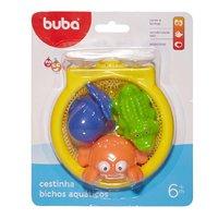Brinquedo Para Banho Cestinha Bichos Aquáticos 4691 - Buba