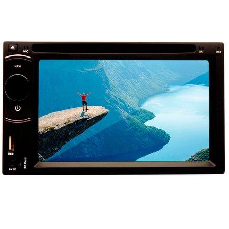 Dvd Player Multimídia Dazz DZ-52216BT DTU Tela 6.2 Cd Usb Touch Screen Bluetooth TV Digital