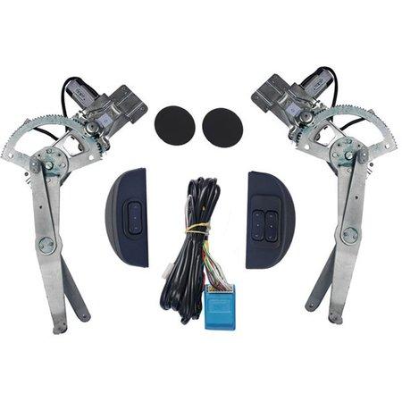 Kit Máquina de Vidro Elétrica Sensorizado Gm Celta 4 Portas