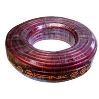 Fio Flexível Crank Cabo de Bateria para Sonorização Profissional 21mm 25 Metros Vermelho Cristal