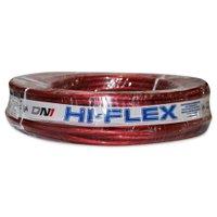 Fio Flexível para Sonorização Profissional de Alta Potência Dni Hi-Flex 16 mm 25 Metros Cristal Vermelho