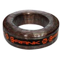 Fio Paralelo para Instalação Automotiva Crank 2x1,00 mm 100 Metros Cristal Preto Fumê