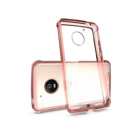 Capa Ultra Slim Air Rosa para Motorola Moto G5 Plus - Gorila Shield