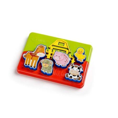Brinquedo Educativo Quebra-Cabeça Sitio Animado - Calesita