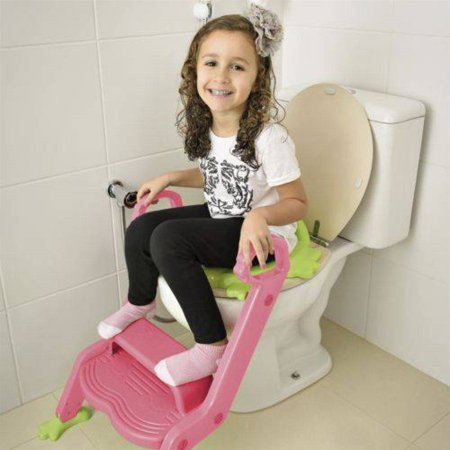 Redutor de Assento com Escada Step Up Seat Rosa BB051 - Multikids