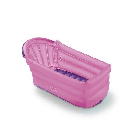 Banheira Inflável Bath Buddy Rosa BB206 - Multikids