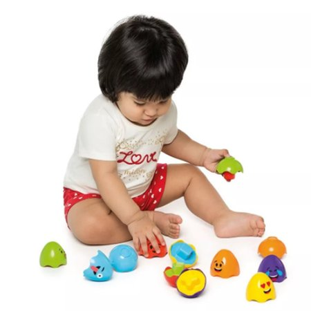 Ovinhos Didáticos Zup Zup Brinquedo Educativo Colorido - Calesita