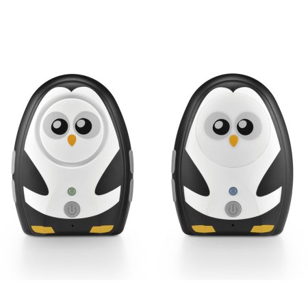 Babá Eletrônica Pinguim c/ Áudio Digital BB024 - Multikids Baby