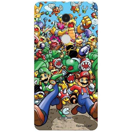 Capa Personalizada para Alcatel A3 XL Super Mario - GA27