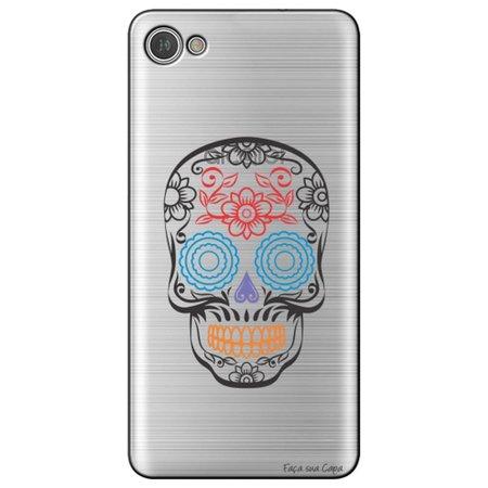 Capa Personalizada para Alcatel A5 Led - Caveira Mexicana - TP241