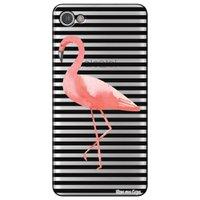 Capa Personalizada para Alcatel A5 Led - Flamingo - TP317