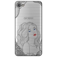 Capa Personalizada para Alcatel A5 Led - Girl - TP266