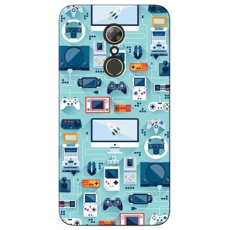 Capa Personalizada para Alcatel A7 - Vídeo Games - VT13