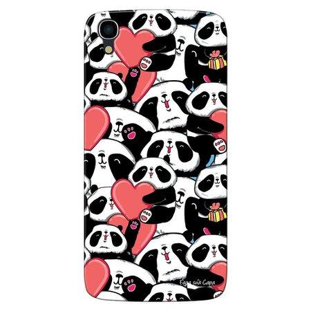 Capa Personalizada para Alcatel Idol 3 5.5 Love Panda - LV21
