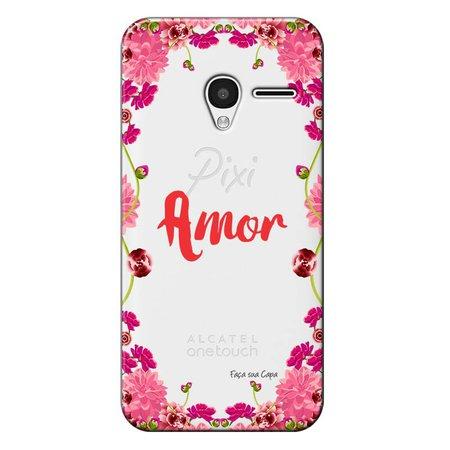 Capa Personalizada para Alcatel Pixi 3 4.5 Amor - TP267