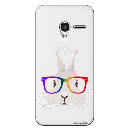 Capa Personalizada para Alcatel Pixi 3 4.5 Coelho - TP239