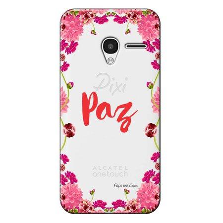 Capa Personalizada para Alcatel Pixi 3 4.5 Paz - TP268
