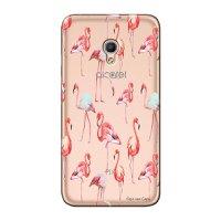 Capa Personalizada para Alcatel Pixi 4 5.0 Flamingos - TP315