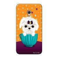 Capa Personalizada para Alcatel Pixi 4 5.0 Cachorro no Pote - DE03