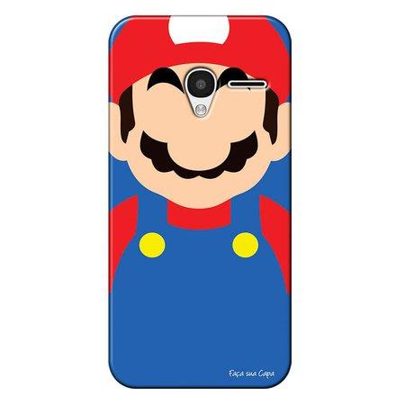 Capa Personalizada para Alcatel Pixi 3 4.5 Super Mario - GA25