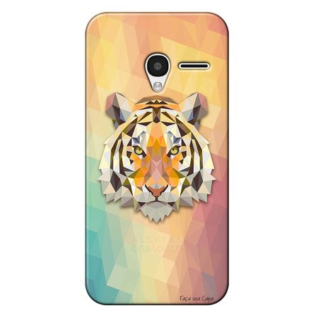 Capa Personalizada para Alcatel Pixi 3 4.5 Tigre - TP237